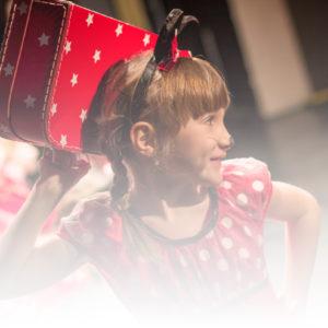 """Aufführung """"Mickey und Minnie auf Reisen"""" vom 26.02.2017"""