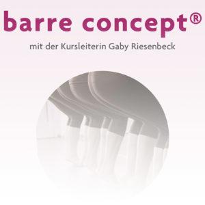 barre concept®: Neuer Kurs