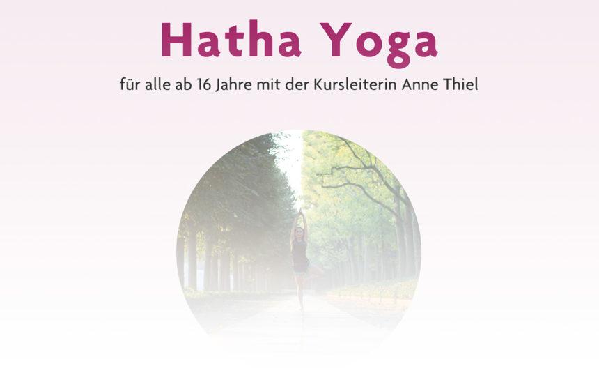 Hatha Yoga: Neuer Kurs