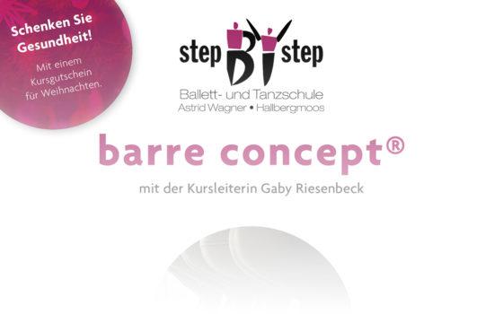 barre concept®: Neues Preiskonzept
