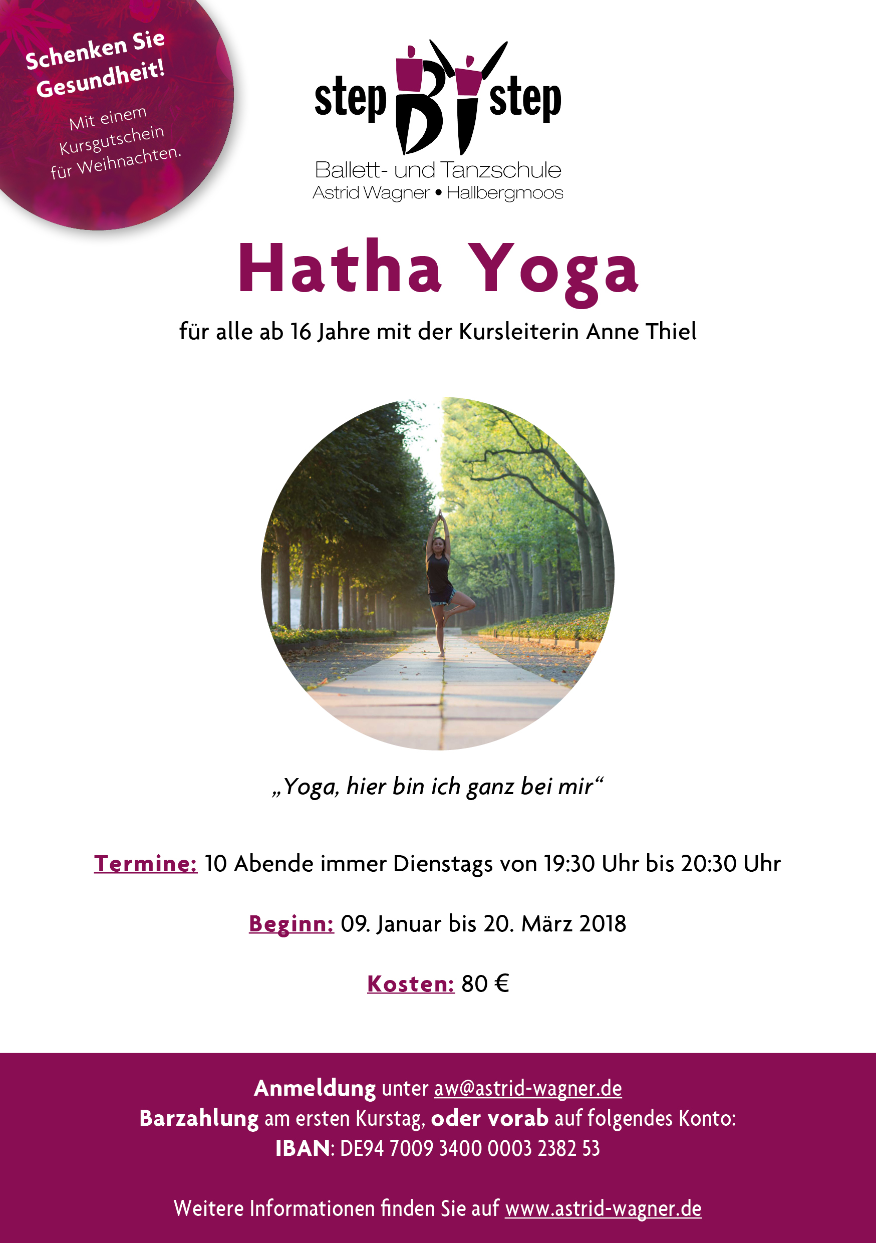 Hatha Yoga Step by step astrid wagner