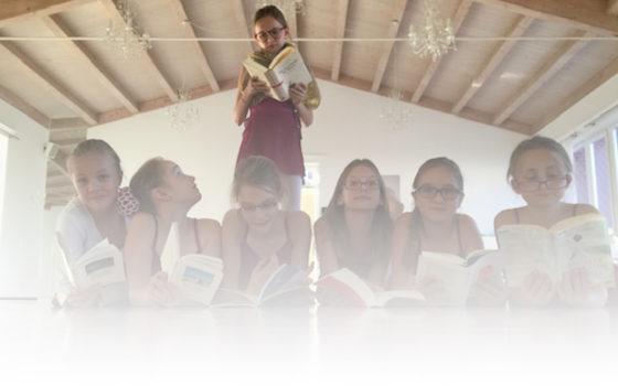 Lesenacht für Groß & Klein im Alter von 8-12 Jahren